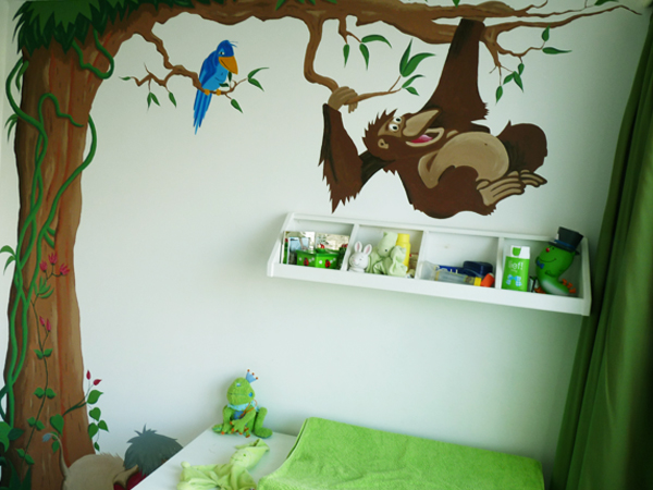 kinderkamer jungle ~ lactate for ., Deco ideeën